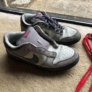 """2005 Nike Dunk Low Pro SB """"Bandaid"""" size 10 USED"""